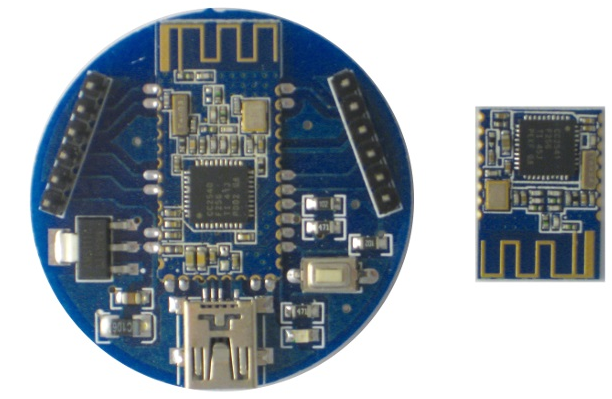 The most popular module for Arduino is HM-10 and HM-11 (the smaller version)