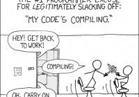 My code's compiling!