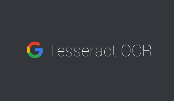 Prior Image Processing for Tesseract OCR – DevelopEx blog