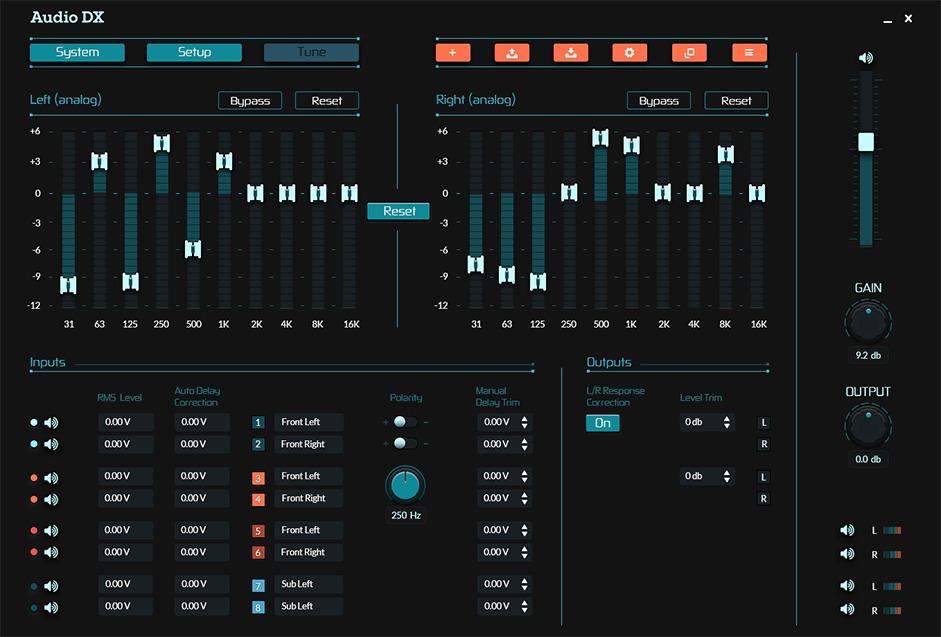 Audio DX interface