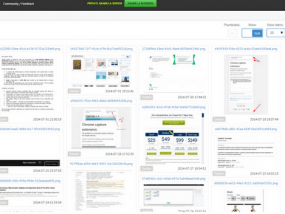 File storage and screen sharing platform